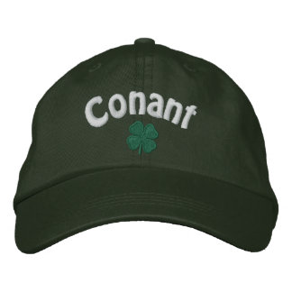 Conant - Four Leaf Clover - Customized Embroidered Hat