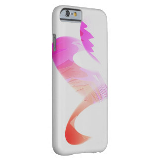 Concave Silhouette iPhone 6 case on White Barely There iPhone 6 Case