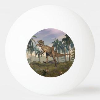 Concavenator dinosaur ping pong ball