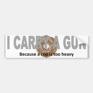Conceal Carry Sticker Bumper Sticker