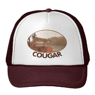 Concentration - Cougar Trucker Hat