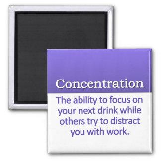 Concentration Definition Square Magnet