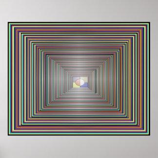 Concentration Meditation Visualization Poster