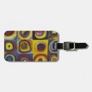 Concentric Circles, 1913 Luggage Tag