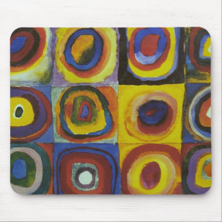 Concentric Circles, 1913 Mouse Pad