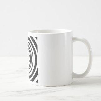 Concentric Circles Graphic Design Mugs