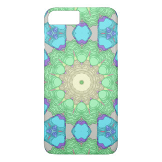 Concentric Pastel Colors iPhone 7 Plus Case