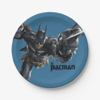 Concept Batman With Batclaw Paper Plate