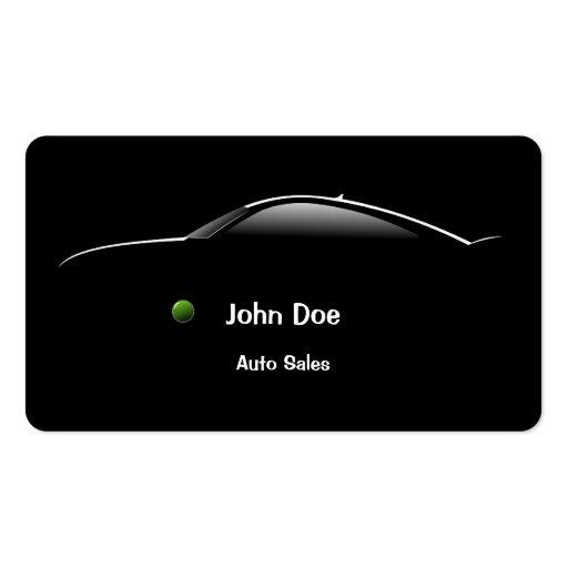 Concept Car Auto Sales Business Card