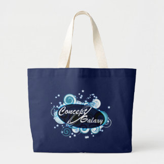 Concept Galaxy Large Tote Bag