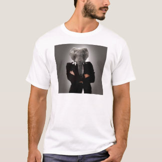 Concept image of a businesswoman. T-Shirt