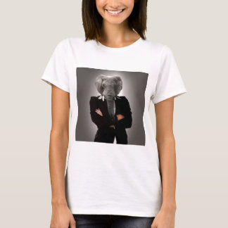 Concept image of a businesswoman. T-Shirt