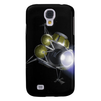 Concept of a crew blasting off samsung galaxy s4 cover