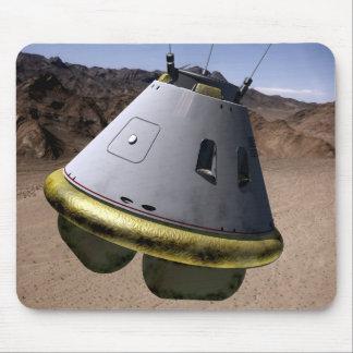 Concept of a crew exploration vehicle mouse mat