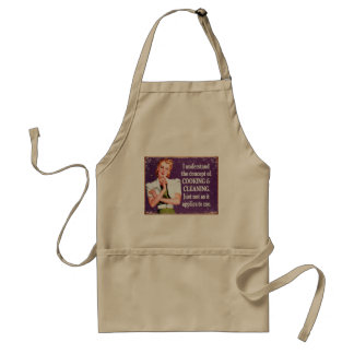 Concept of Cooking and Cleaning... Standard Apron