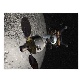 Concept of the Orion crew exploration vehicle Photo Print