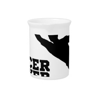 Concept Silhouette Soccer Football Player Drink Pitchers
