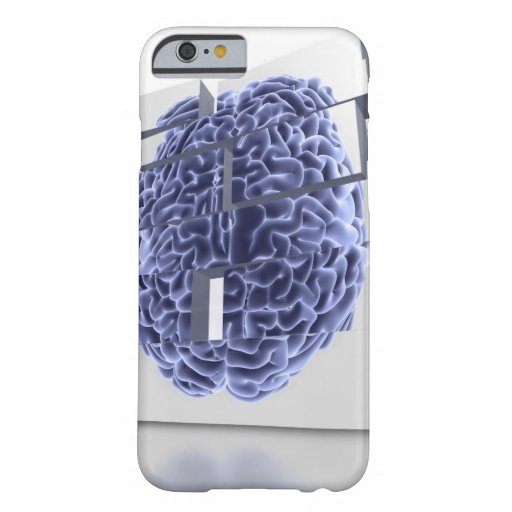 Conceptual computer artwork of building blocks iPhone 6 case