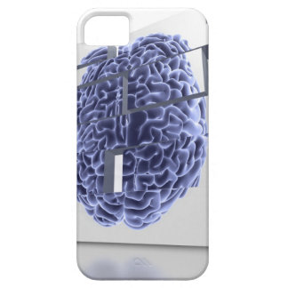Conceptual computer artwork of building blocks iPhone 5 cover