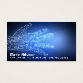 conceptual data technology business card