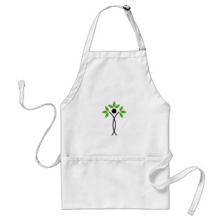 Conceptual design of a tree and a human standard apron
