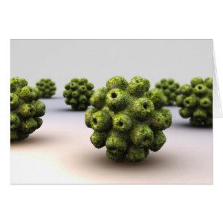 Conceptual Image Of Polyomavirus Greeting Cards