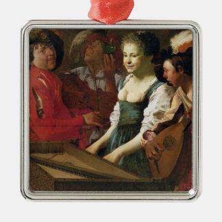 Concert, 1626 christmas ornament