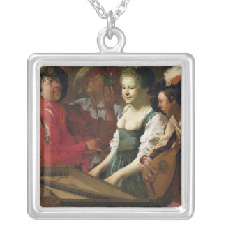 Concert, 1626 silver plated necklace