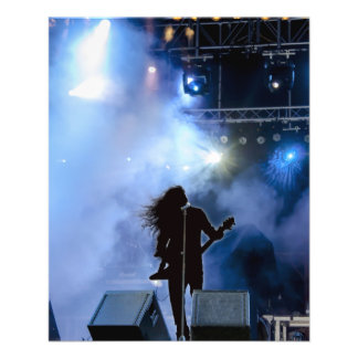 concert-316381 concert, singer, stage, show, music 11.5 cm x 14 cm flyer