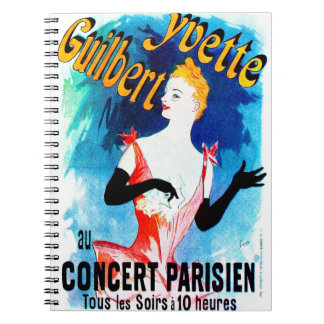 Concert Ad 1891 Spiral Note Book