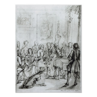 Concert at Montague House, 1736 Poster