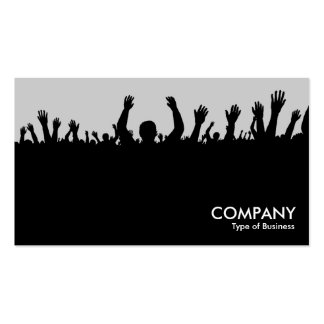 Concert - Black and Lt Gray Business Card