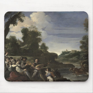 Concert Champetre, 1617 (oil on panel) Mouse Pad