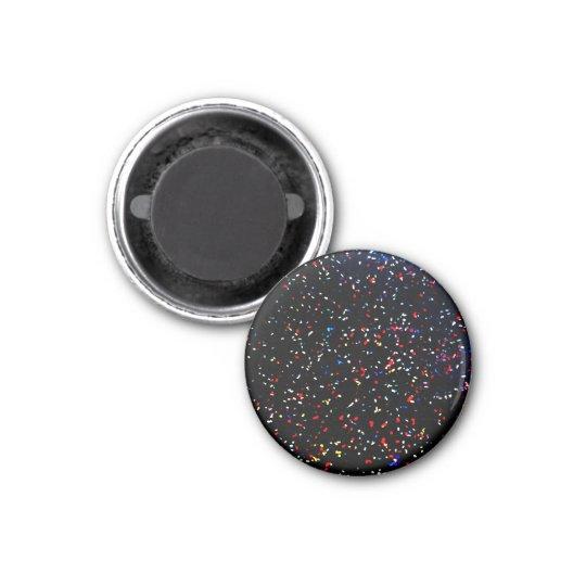 Concert Confetti Magnet! 3 Cm Round Magnet