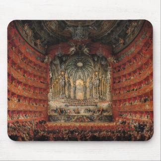 Concert given by Cardinal de La Rochefoucauld Mouse Mat