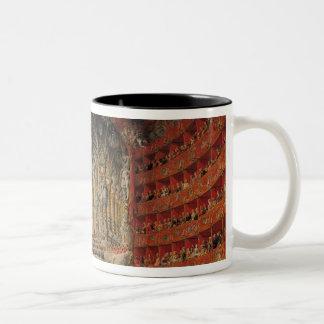 Concert given by Cardinal de La Rochefoucauld Two-Tone Coffee Mug
