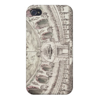 Concert Hall in Venice, 18th century (coloured eng iPhone 4 Cases