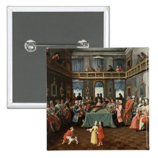 Concert in a Private House 15 Cm Square Badge