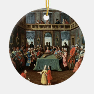 Concert in a Private House Christmas Ornament