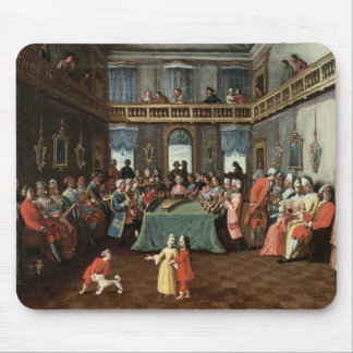 Concert in a Private House Mouse Mat