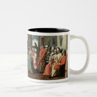 Concert in a Private House Two-Tone Coffee Mug