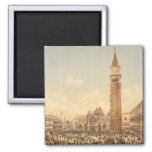 Concert in St Mark's Square II, Venice, Italy Magnet