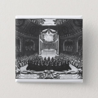 Concert in the garden of Trianon 15 Cm Square Badge