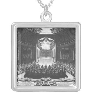 Concert in the garden of Trianon Silver Plated Necklace