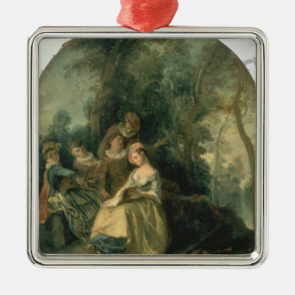Concert in the Park, 1725 Christmas Ornament
