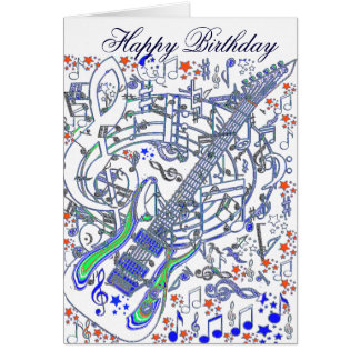 Concert Jam_ Greeting Card