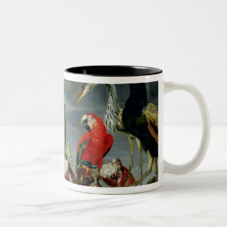 Concert of Birds Two-Tone Coffee Mug