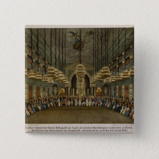 Concert of the royal band in the auditorium 15 cm square badge