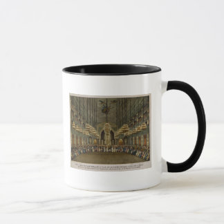 Concert of the royal band in the auditorium mug