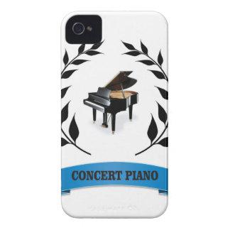 concert piano iPhone 4 cases